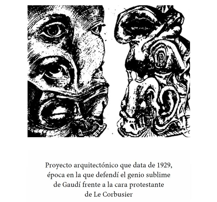 Le Corbusier Dalí