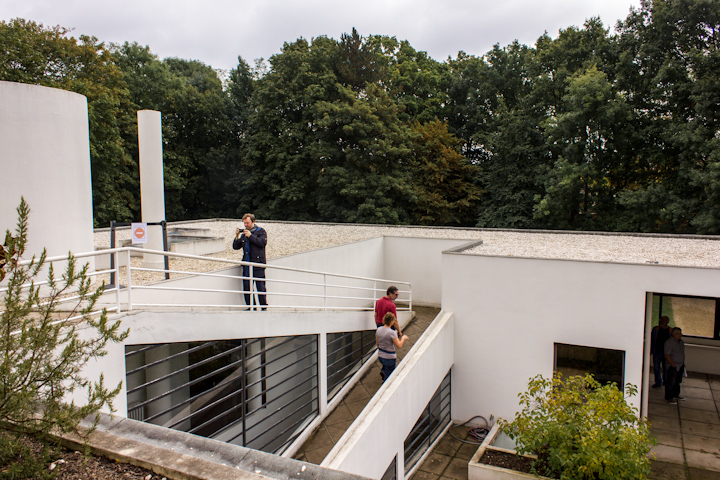 terraza villa savoye
