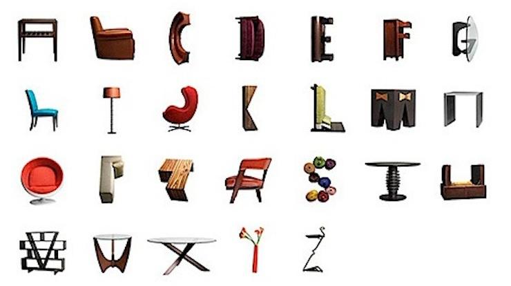 Tipografia archives cosas de arquitectos for Diferentes tipos de muebles