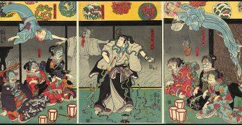 ukiyo-e | La muerte en el mundo flotante
