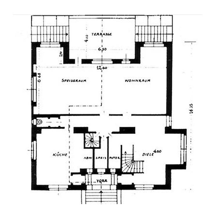 villa-steiner-adolf-loos-arquitectura-plano-planta-baja