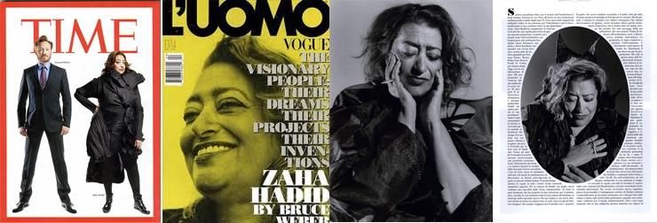 zaha hadid magazines